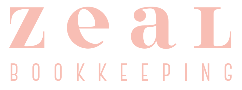 Main logo for Zeal Bookkeeping